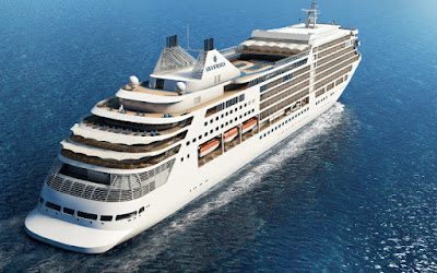 Artists Rendering of  Silversea Cruises Newly Ordered Silver Dawn Expected in 2021
