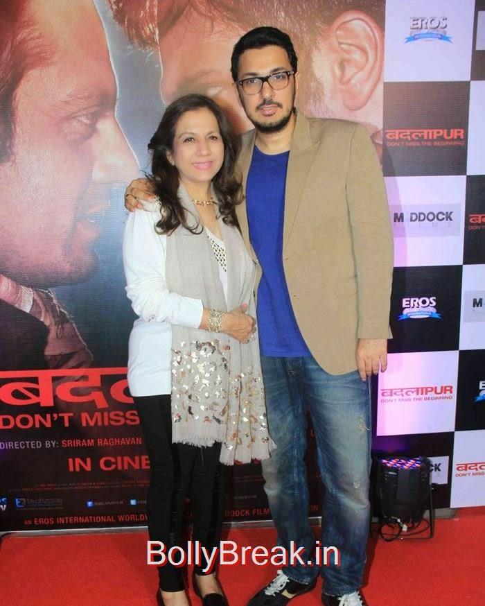 Karuna Dhawan, Dinesh Vijan, Hot Pics of Sonakshi Sinha, Shraddha Kapoor At 'Badlapur' Success Bash