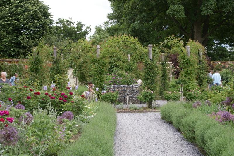 Organic garden dreams mottisfont abbey a rose lover 39 s paradise vi for Olive garden never ending classics prices