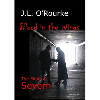 """Blood in the Wings"" by Christchurch author J.L. O'Rourke"