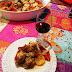 Pollo al baharat o a las siete especias libanesas
