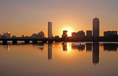 Boston Charles river sunrise photography pictures