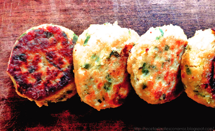 hamburguesas vegetarianas de berenjena y queso