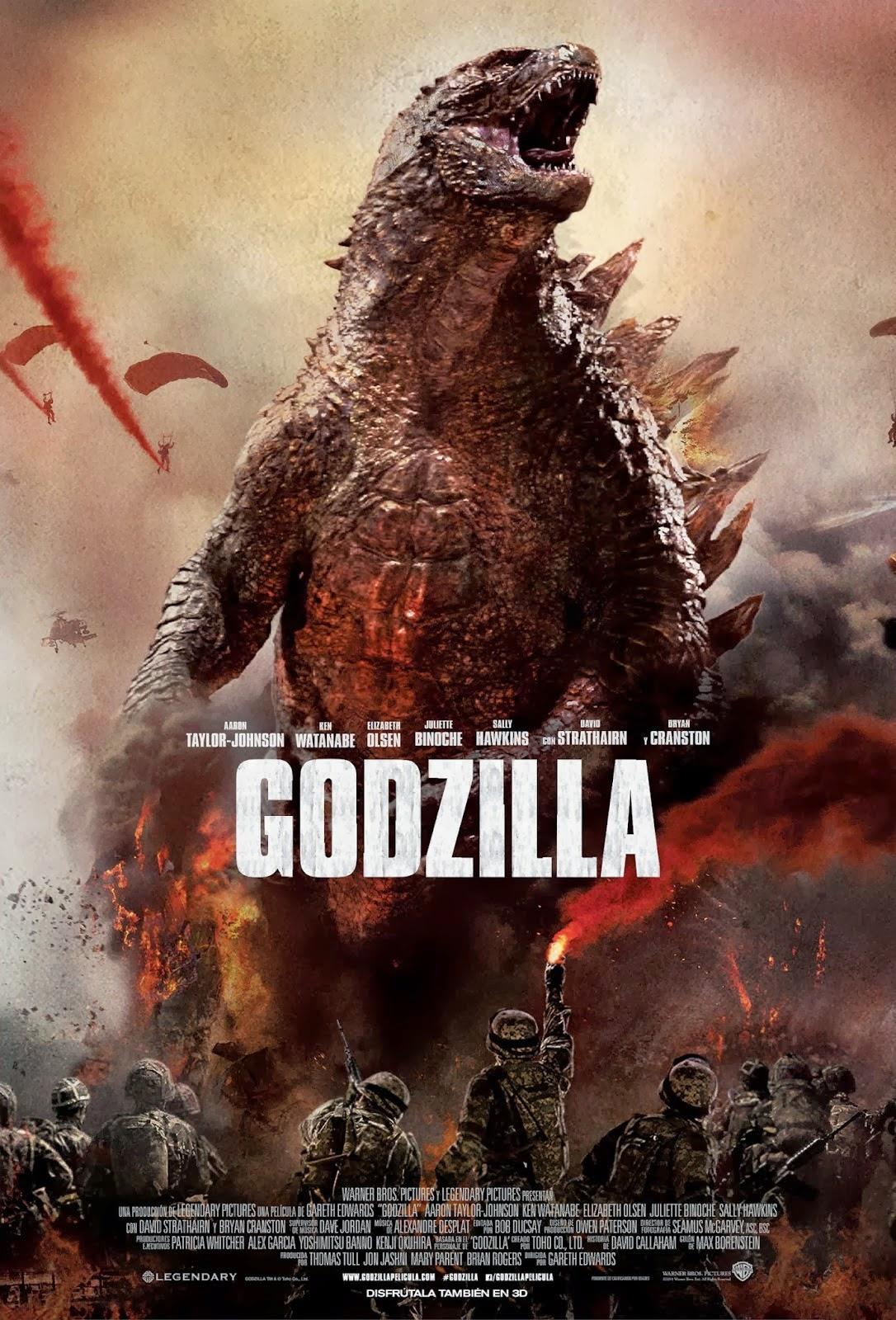 Cool Ass Cinema Godzilla 2014 Review