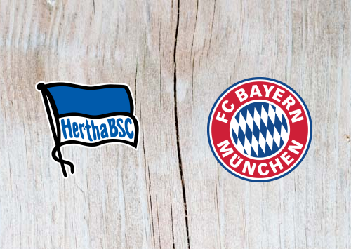 Hertha Berlin vs Bayern Munich Full Match & Highlights 28 September 2018