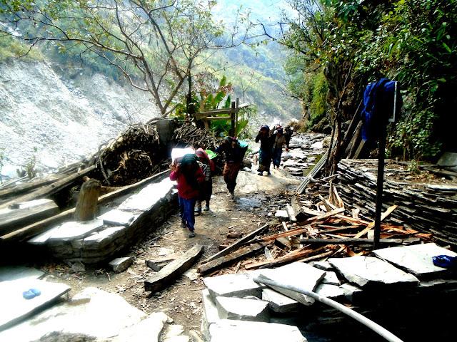 Around Manaslu trekking