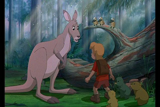 Cody Faloo Disney movie The Rescuers Down Under 1990 animatedfilmreviews.filminspector.com