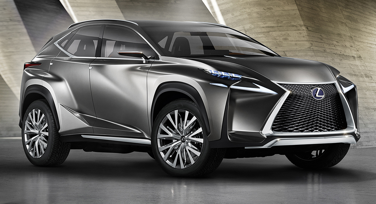 Motoring Malaysia Lexus Lf Nx Previewed Ahead Of The Frankfurt