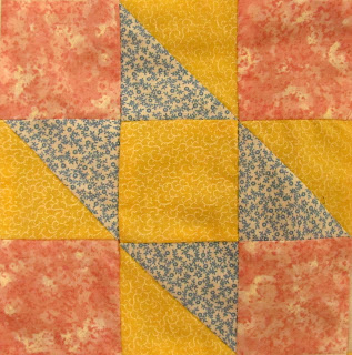 6 inch by 6 inch quilt block pattern tutorial by The Quilt Ladies