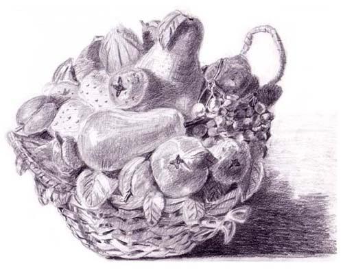 Ten toys illustration 2005 for Cesto di frutta disegno