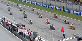 Starting Grid Balapan MotoGP Thailand Minggu 7 Oktober 2018