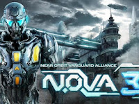 Download Game Android N.O.V.A. 3 – Near Orbit Vanguard Alliance v1.0.7 APK + DATA
