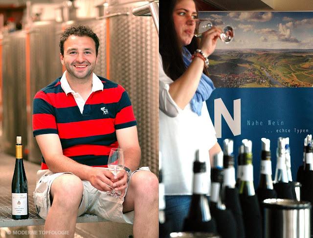Aus dem Weinkeller von Nahewinzer Jakob Schneider (l.) kommt bereits zum dritten Mal ein Siegerwein des Edelschliff-Weinwettbewerbs. #Nahe #Nahewein