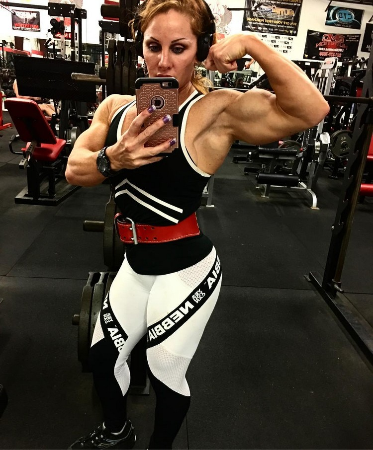 Such A Beautiful Muscle Goddess Lindsay Mulinazzi - Strong -5871