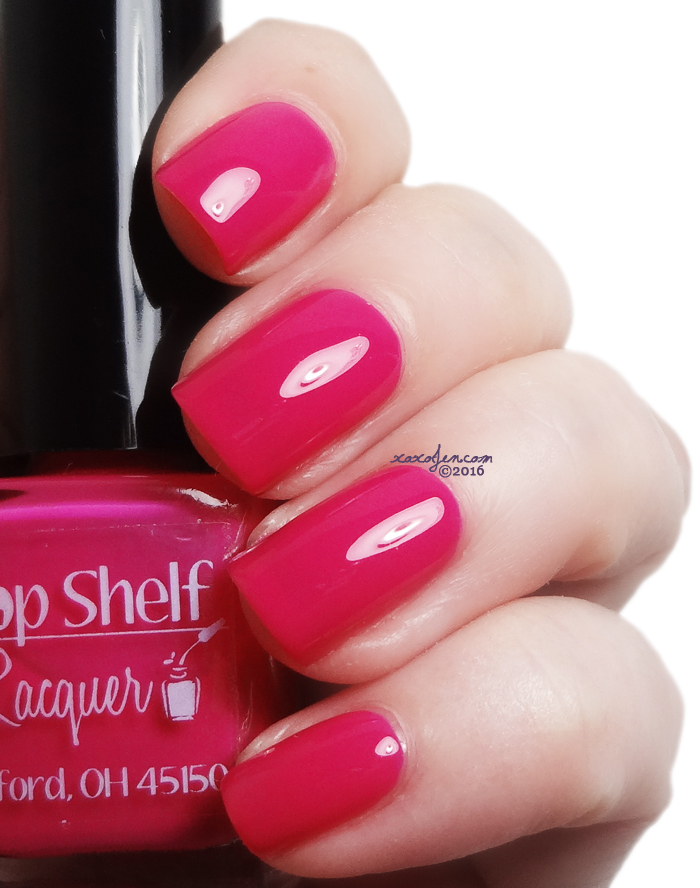 xoxoJen's swatch of Top Shelf Love Potion Punch