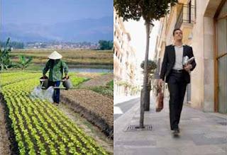 perbedaan masyarakat desa dan kota sosiologi,secara ekonomi,baik secara ekonomi sosial budaya dan secara fisik,dari segi ekonomi,