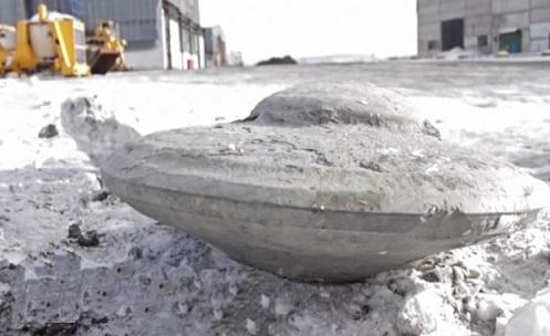 Encontrado Rocha em Forma de UFO na Rússia!