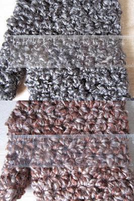 gauge, crochet, measuring, centimeters, inches
