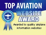 TOP AVIATION WEBSITE AWARD