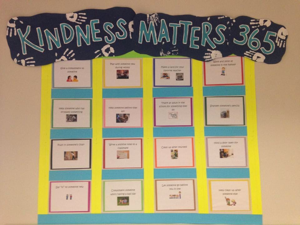 Kindness 365 Board
