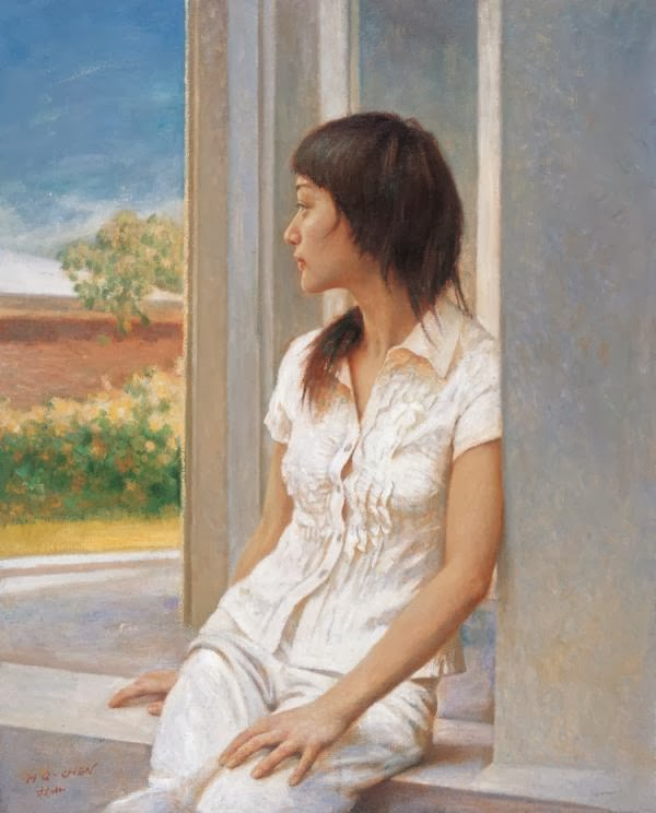Beautiful Figurative Paintings by Chinese Painter Chen Hongqing
