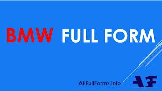 BMW Full Form