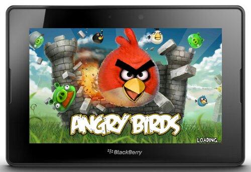 El más reciente lanzamiento de juegos esta semana para el tablet BlackBerry® PlayBook™ es la popular serie de juegos Angry Birds, de Rovio. Las tres aplicaciones están disponibles en BlackBerry App World™ por US$4.99 cada una. · Angry Birds: ¡La sobrevivencia de los Angry Birds está en peligro! Véngate de los cerdos que le robaron los huevos a las aves. ¡Usa los poderes únicos destructivos de los Angry Birds para destruir las fortificaciones de los cerdos!· Angry Birds Seasons: ¡Celebre las temporadas con Angry Birds! ¡Angry Birds Seasons es una edición especial del juego que lleva a las furiosas aves