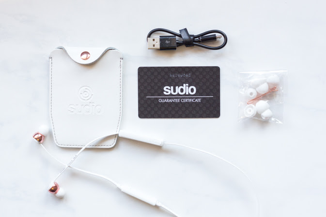 sudio sweden vasa bla rose gold wireless earphones review