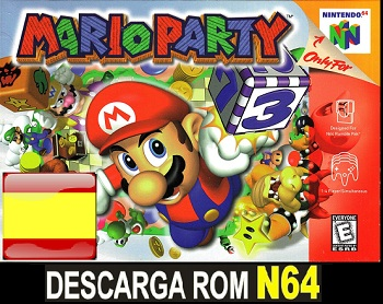Mario Party ROMs Nintendo64 Español