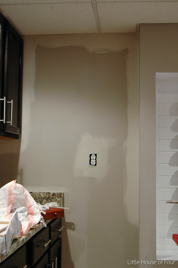 Basement Makeover Paint And Floor Progress Little