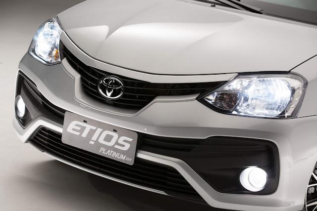 Toyota Etios Platinum 2017 Automático