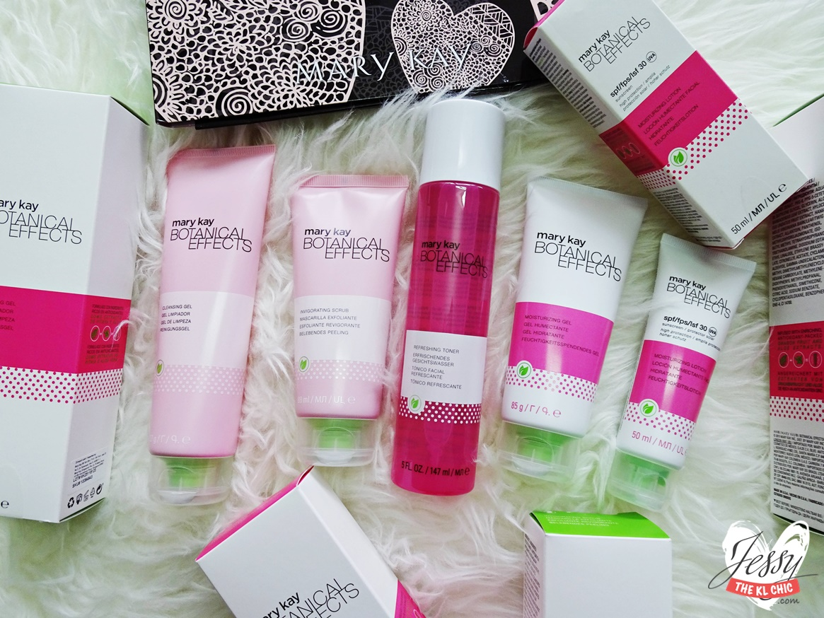 New Fresh Fruity Skincare | Mary Kay Botanical Effects