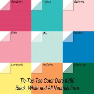"""Click Photo for Color Dare #380 """"TicTacToe"""" - Closes Sunday Feb 20th"""