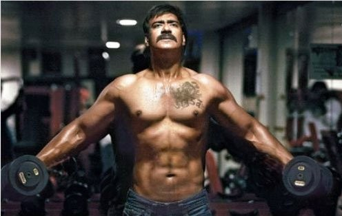 Prabhas gym body photos zenfitt ajay devgan body workout and t schedule top ten indian bodybuilders thecheapjerseys Choice Image