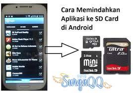 Beberapa cara mudah untuk pindahkan data android ke micro SD