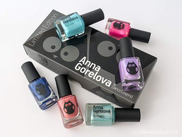 ANNA GORELOVA SUMMER COLLECTION SET IN GIFT BOX, Dance Legend