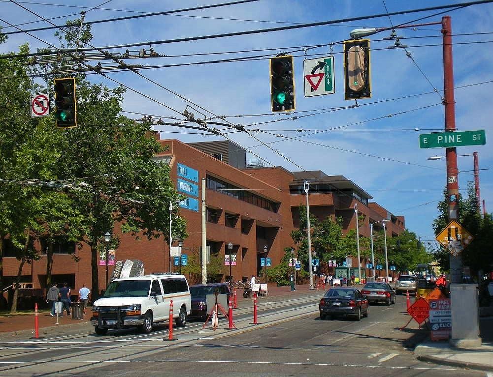 Urban Landscape Native Landscape: August in Seattle