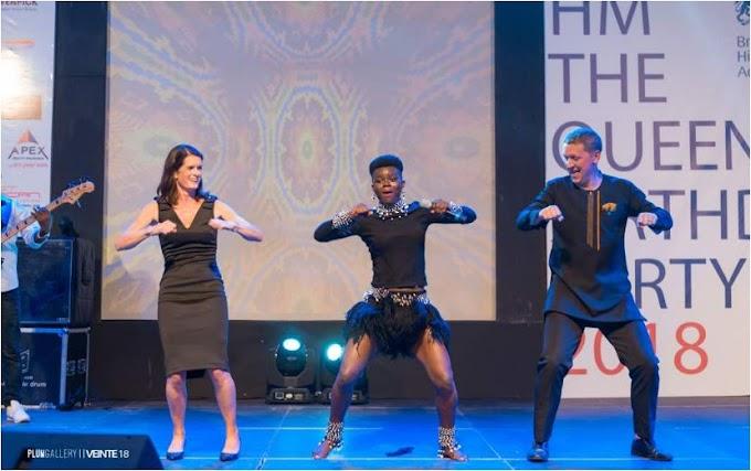 Photos&Video: Wiyaala, Reggie N Bollie Rock Queen's Birthday Celebration