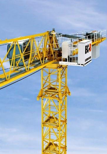 Liebherr 172 EC-B 8 Litronic Flat Top Tower Crane (8 tonne
