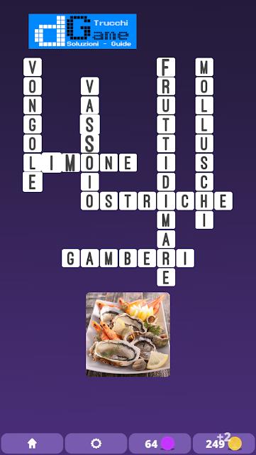 Soluzioni One Clue Crossword livello 10 schemi 1  (Cruciverba illustrato)  | Parole e foto