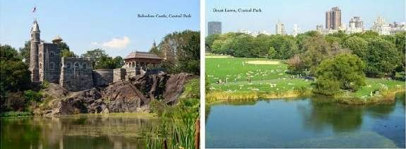 Belvedere Castle by Central Park Bicycles