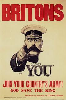 First World War poster Lord Kitchener