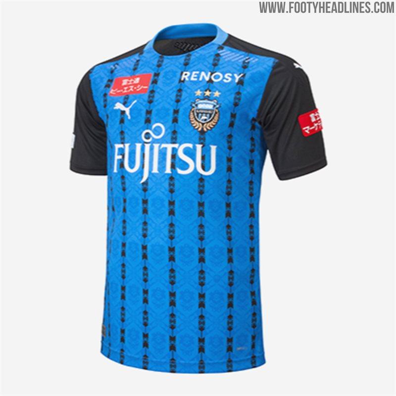J League Football Shirts: Spectacular Kawasaki Frontale 2020 Home, Away & Goalkeeper