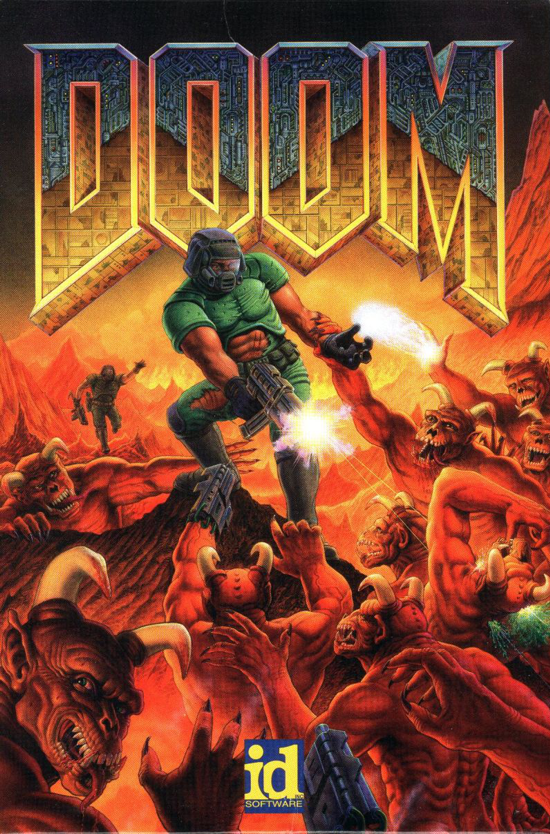 DOOM 1993 cover art - front