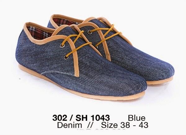 Sepatu Casual Pria bahan denim, gambar Sepatu Casual Pria keren, model Sepatu Casual Pria terbaru, harga Sepatu Casual Pria murah, Sepatu Casual Pria cibaduyut online