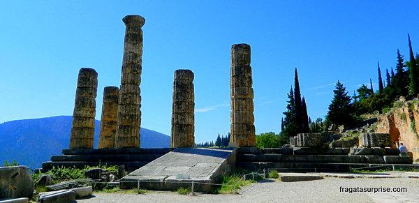 Templo de Apolo em Delfos, Grécia