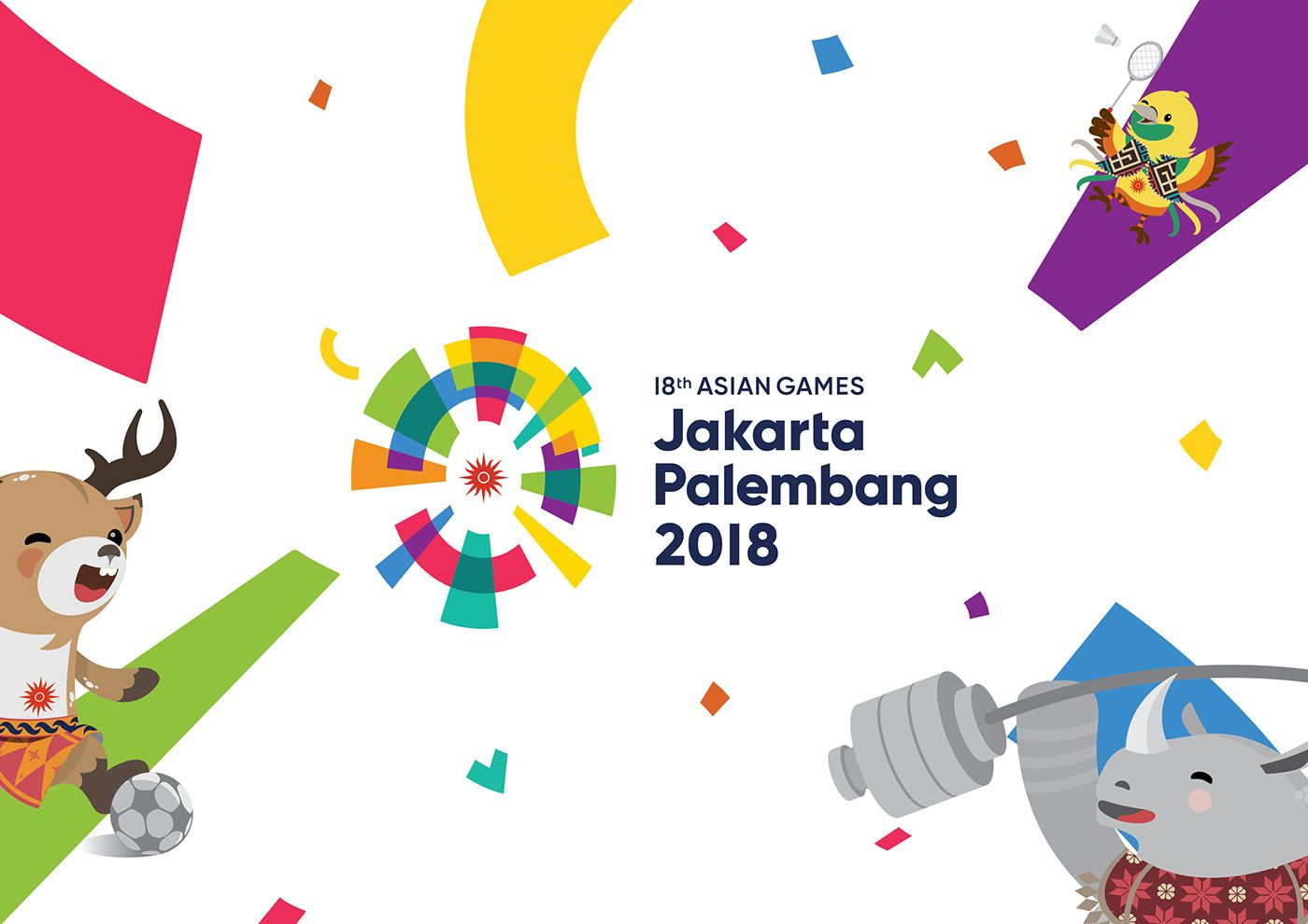 Semarak Kemeriahan Asian Games 2018 Jakarta Palembang