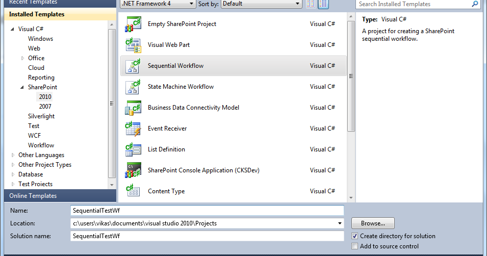 Sharepoint shell creating a sharepoint sequential visual for Sharepoint workflow templates download