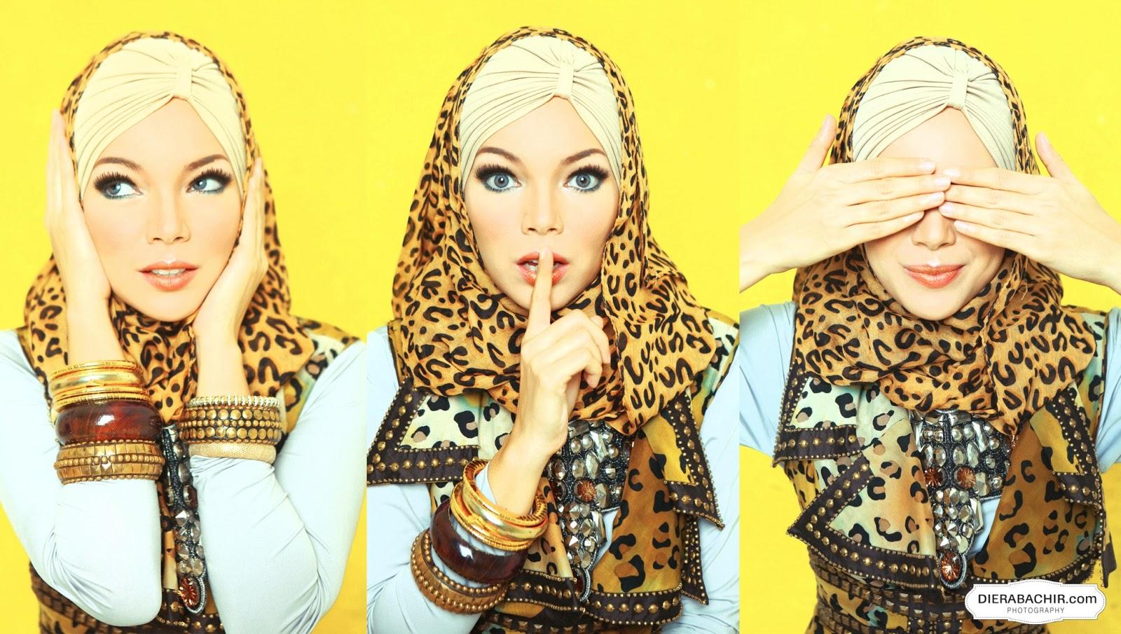 84 Gambar Keren Tutorial Hijab Pesta Ala Dewi Sandra Untuk Anda