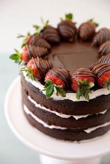 Tortas Desnudas de Chocolate